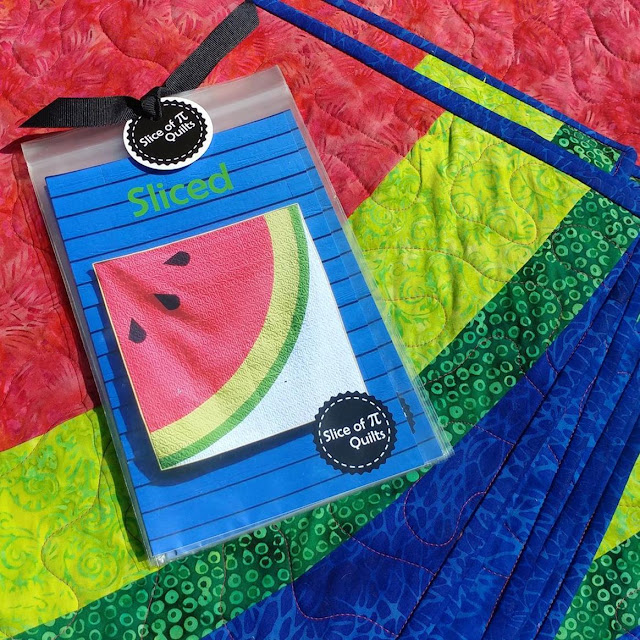 Sliced watermelon quilt patterns