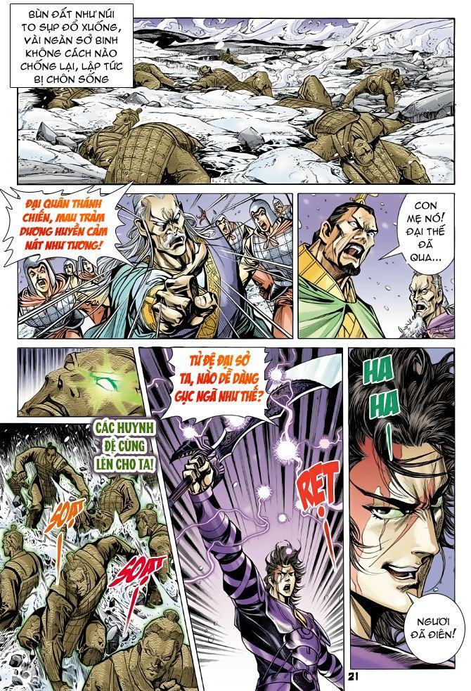 Đại Đường Uy Long chapter 56 trang 21