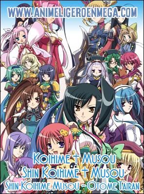 Koihime Musou + Shin Koihime Musou + Shin Koihime Musou - Otome Tairan: Todos los Capítulos (36/36) + OVA (03/03) [Mega - MediaFire - Google Drive] BD HDL