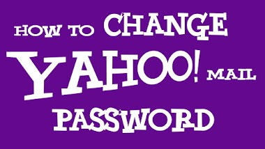 how to change password on ymail