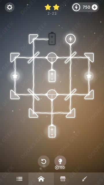 Laser Overload [Beginner] Level 2-22 Solution, Walkthrough, Cheats