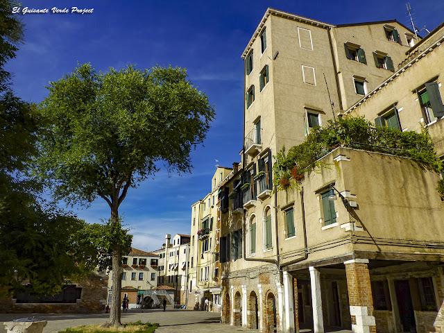 Campo del Gueto Nuevo - Cannaregio, Venecia por El Guisante Verde Project