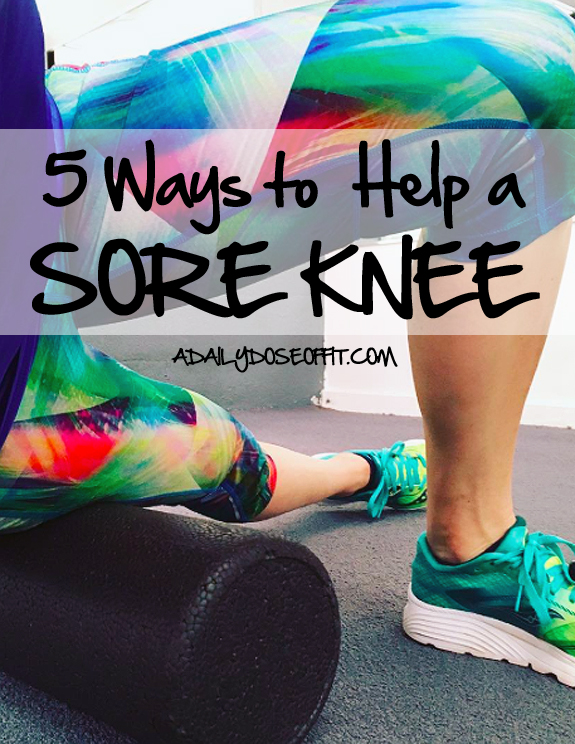 dealing with pain, knee issues, leg muscles, foam roller