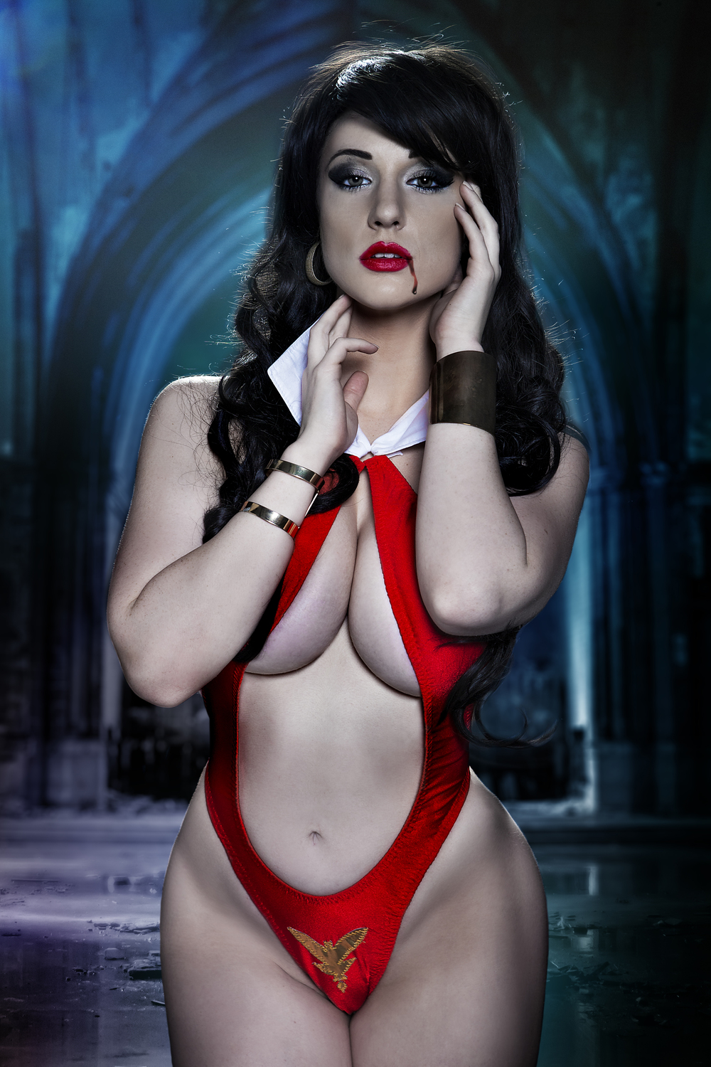 Cosplay Vampirella by Claire Ana, posted on Saturday, 14 July 2018
