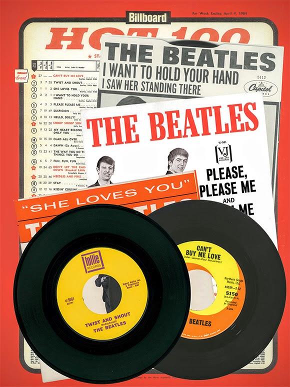 Les Beatles occupent une place particulière dans le Billboard Hot 100