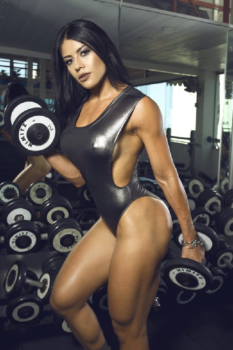 Yasmin Castrill India Fitness Model
