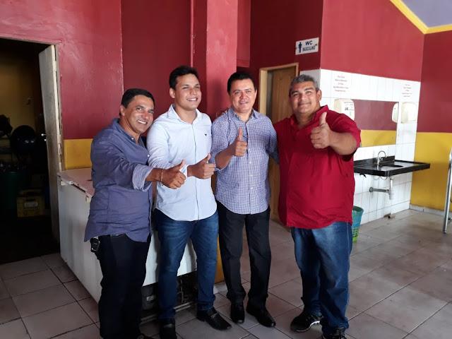 Deputado Rigo Teles garante mais uma vez apoio do prefeito Adailton de Fernando Falcão.