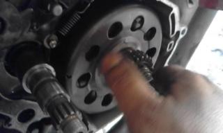 Gambar auto clutch Yamaha lc135