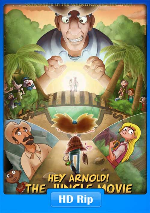 Hey Arnold The Jungle Movie 2017 720p HDTV 650MB Poster
