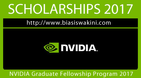 NVIDIA Fellowship Program 2017