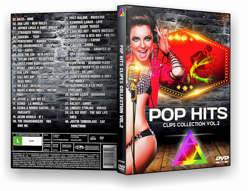 DVD – Pop Hits Clips Collection Vol.2 – ISO