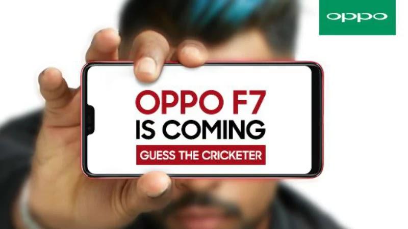Oppo F7 Leaked, iPhone X-Like Full Screen display