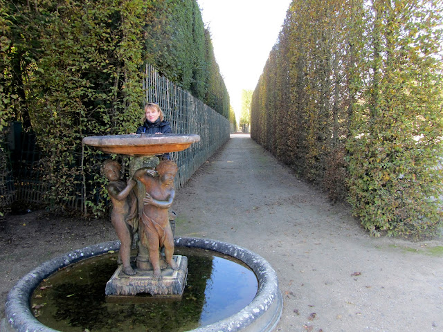 Версаль. Сад.