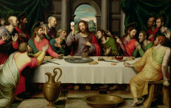 The Last Supper  Vincent Juan Macip Juan de Jaunes  1510-1579
