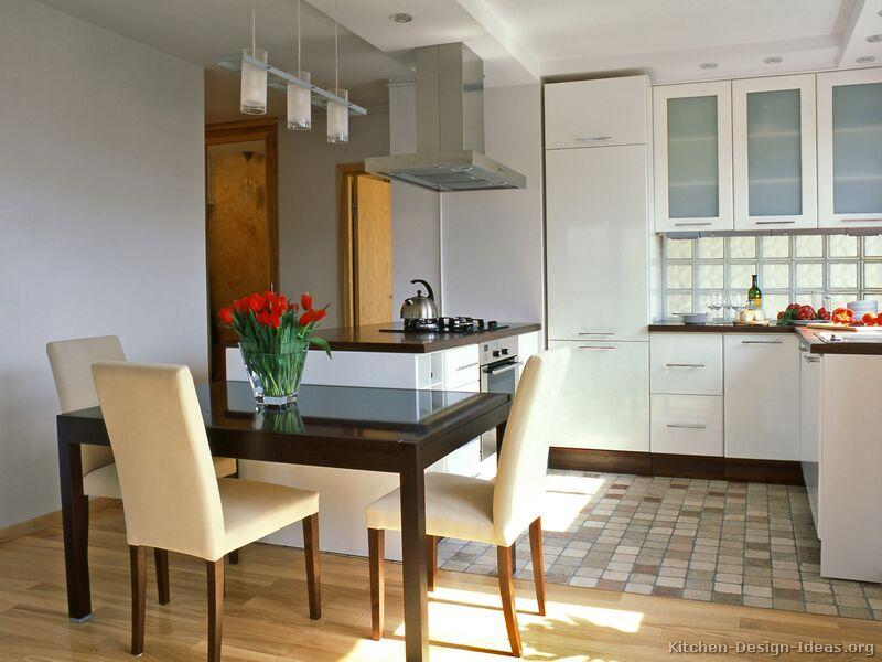 Modern White Kitchen Ideas With Wooden Floor+Desain+Dapur+Putih+Dekorasi+Dapur+Modern+2013
