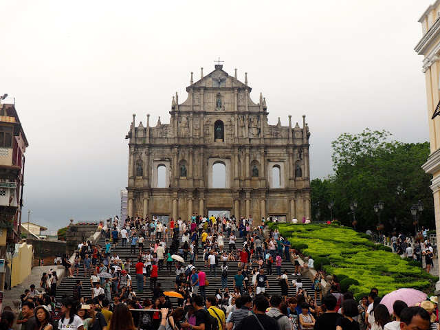 Ruins of St Paul's, Macau, SAR of China
