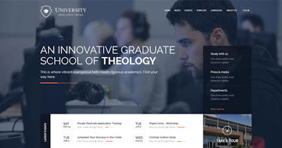 Download University GavickPro WP Theme For Educational Websites
