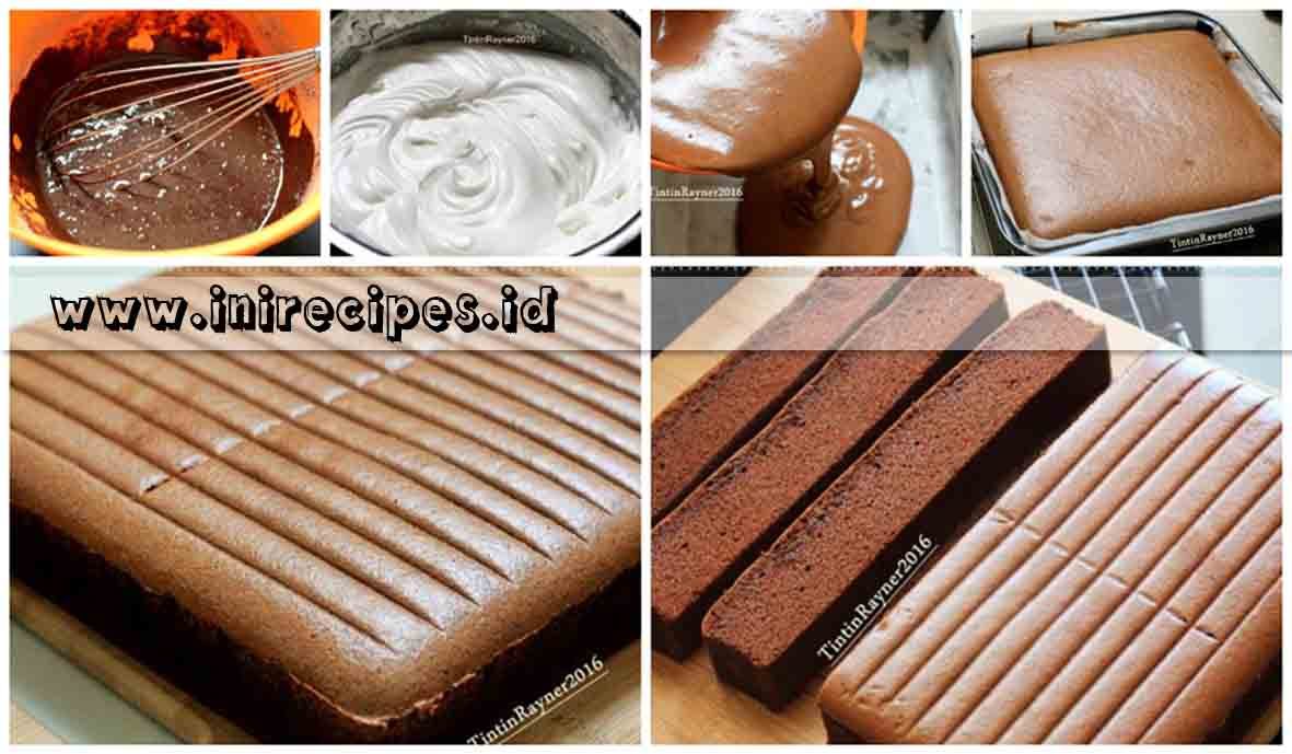 Resep Moist Chocolate Cake