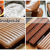Resep Chocolate Ogura Cake. Lembut, Moist, Lumer dan Enak Bingiiiit!...