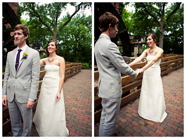 {Real Wedding} Mallory & Zach: Charming Budget-Friendly