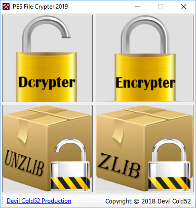 PES File Crypter 2019 by Devil Cold52 Production