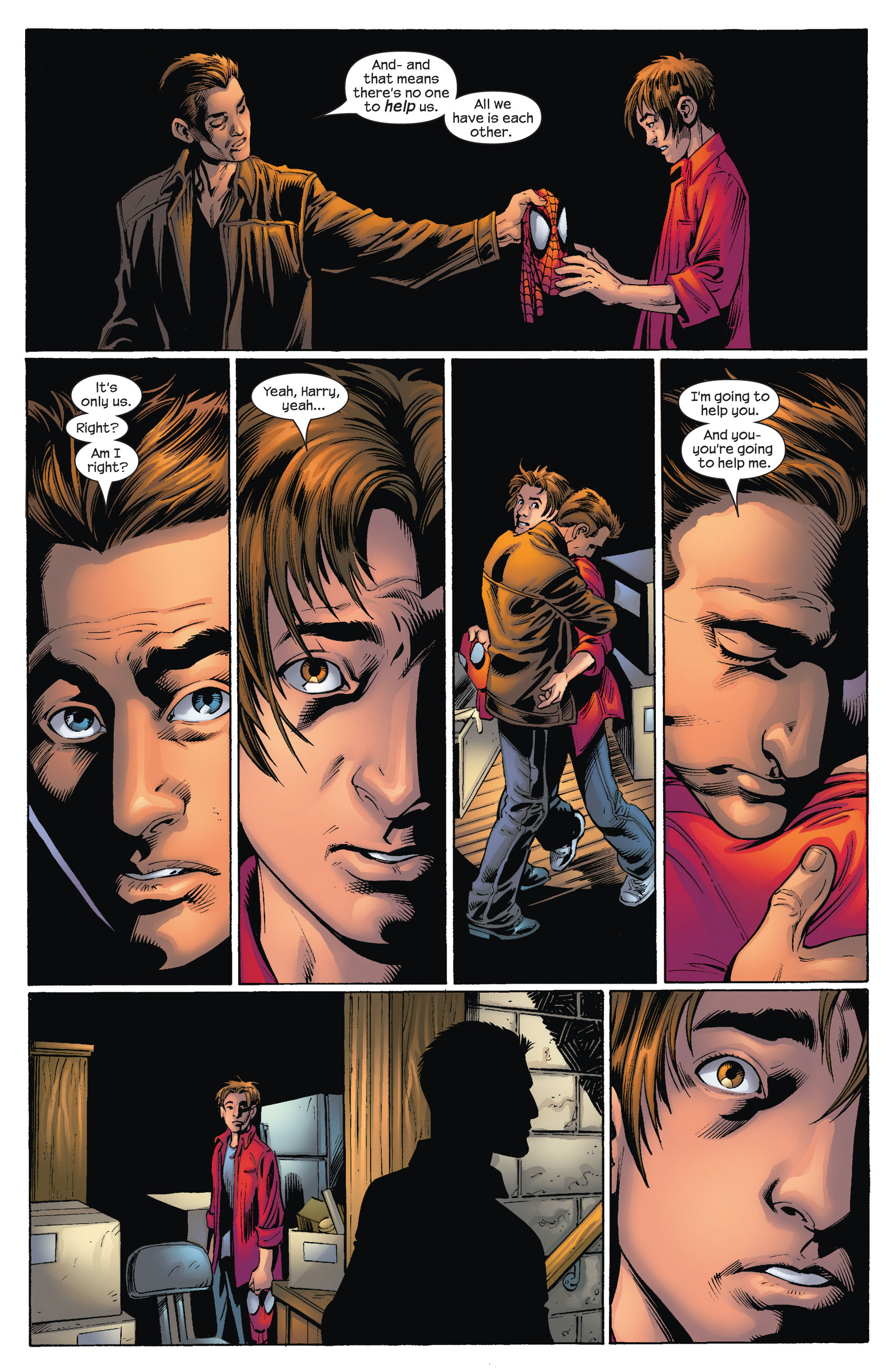 Read online Ultimate Spider-Man (2000) comic -  Issue #74 - 4