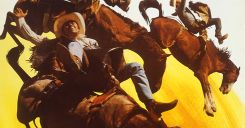 Vintage Calgary Stampede Posters Editing Luke