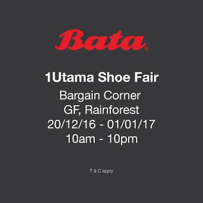 Bata Home Malaysia 1Utama Shoe Fair Bargain Corner
