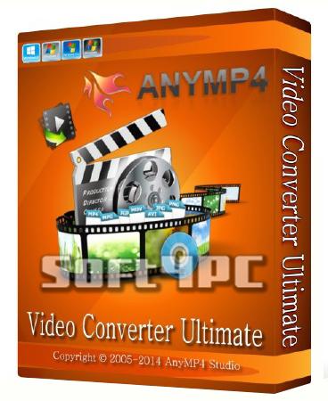 AnyMP4 Video Converter Ultimate 6.3.8 + Crack