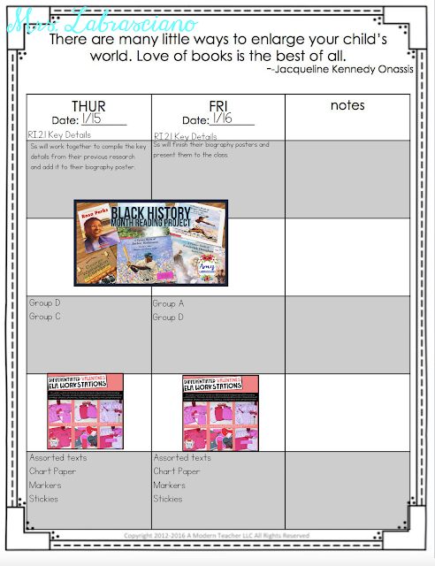 Click here to learn all about teaching ELA in the second  grade classroom.  These free and fun lesson outlines will detail curriculum and ideas for all informational, literature and writing standards in my 2nd grade elementary classroom.  This week's lessons will be all about: influential African Americans, Rosa Parks, Jesse Owens, Harriet Tubman, George Washington Carver, Jackie Robinson Frederick Douglas, main topic, asking and answering questions and key details.  Your second grade students will love the lessons and activities shared here.  These lesson outlines are added and updated almost each week.