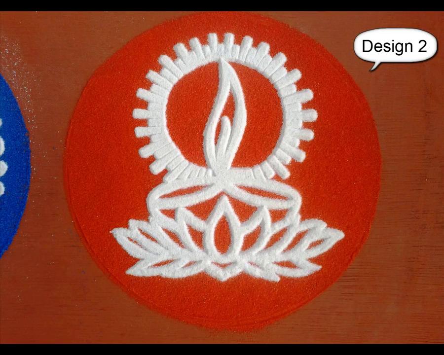 Diwali Rangoli Kolam Designs Images Diya Rangoli Stencil