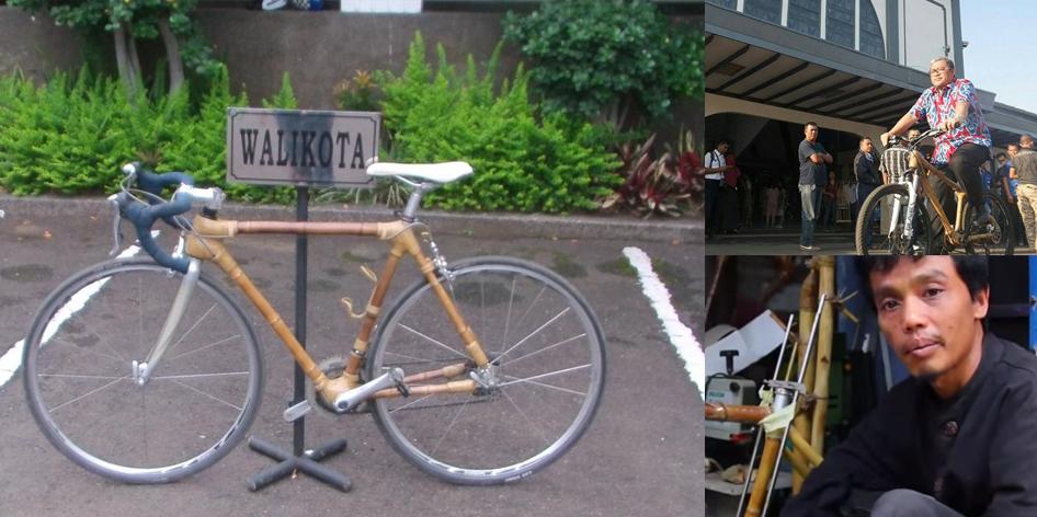 Sepeda Bambu Haur Bike Bandung