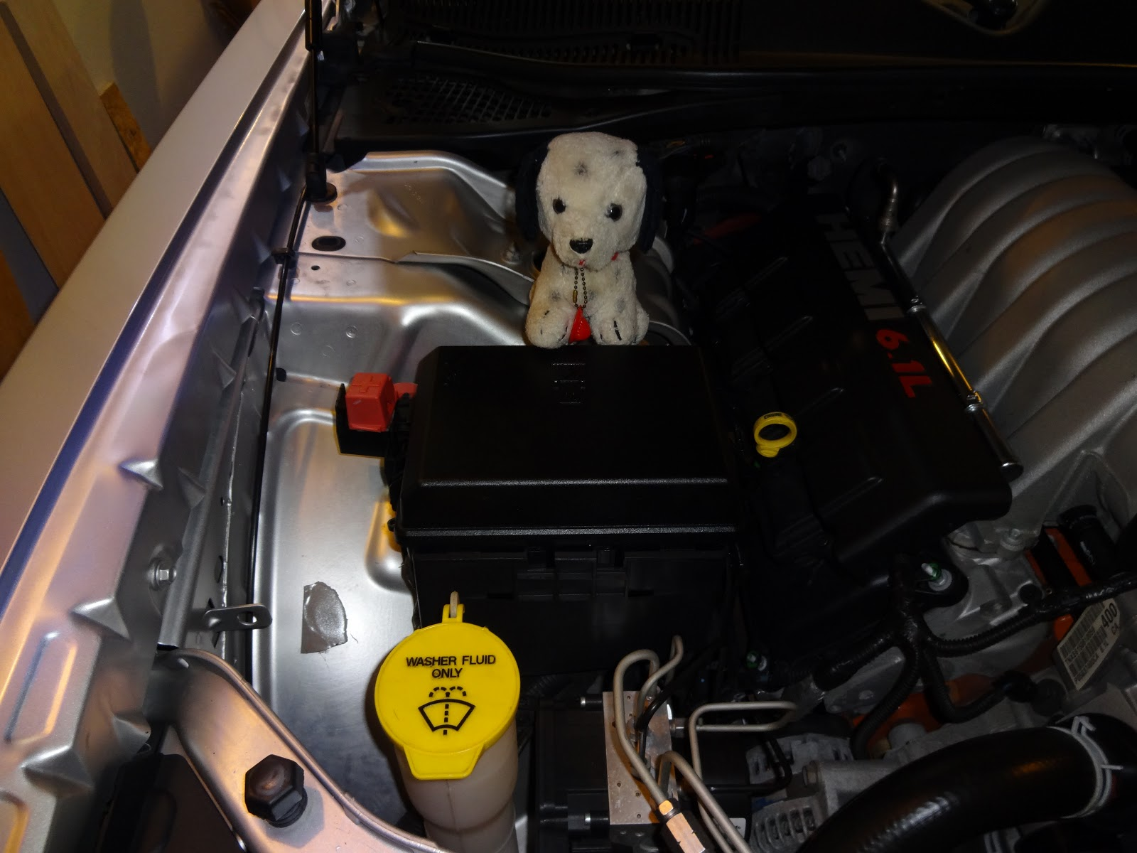 hight resolution of this is celebrity puppy fireplug sitting on top of the fuse box where you will find fuse 2 this is under the hood passenger side forward of the wheel