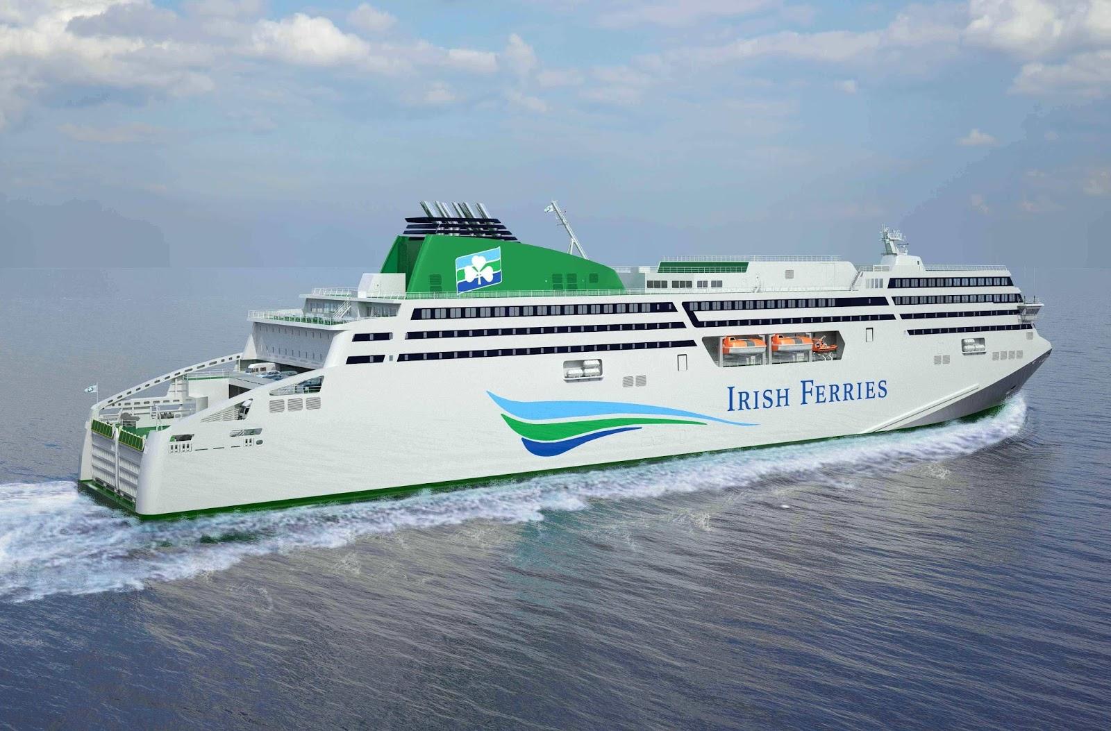 Irish car travel magazine irish ferries new w b yates - Rosslare ferry port arrivals ...