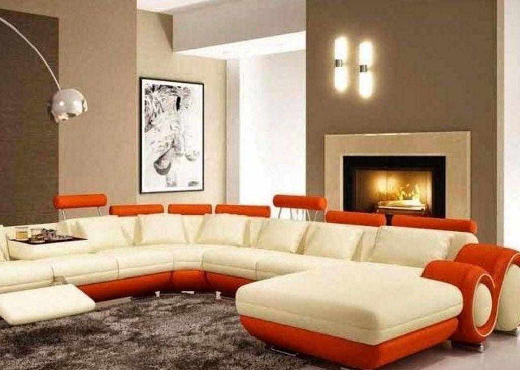ide warna cat ruang keluarga minimalis idaman