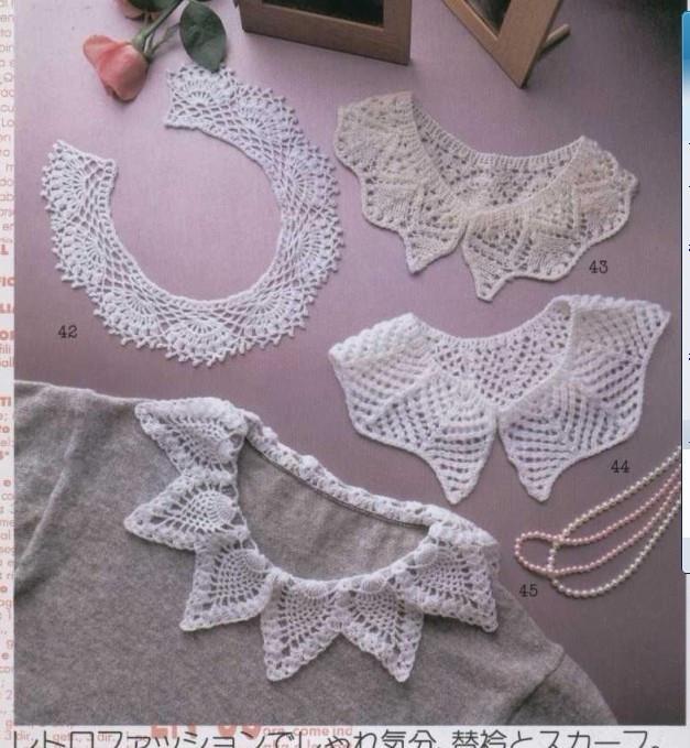 Cuellos Sueltos de Crochet