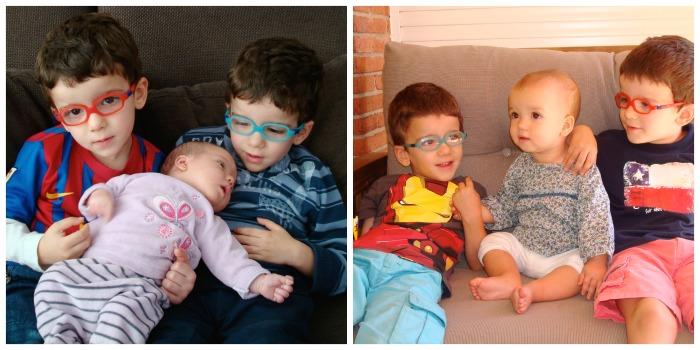 fotos niños con hermanita