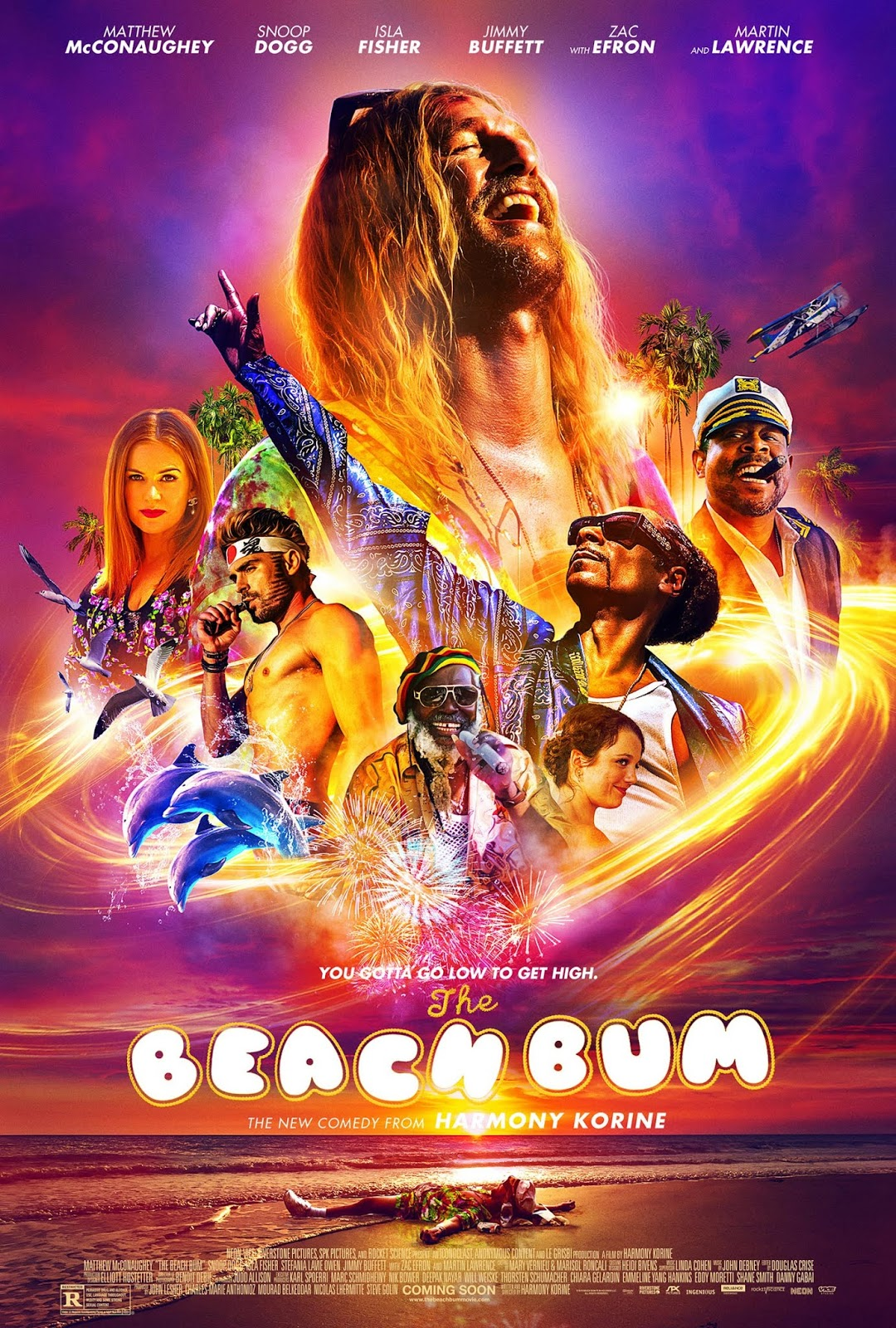 Capa do Filme The Beach Bum