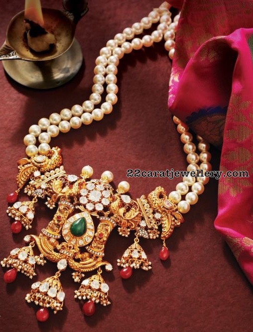 Pearls Long Chain by Talwar Jewellers