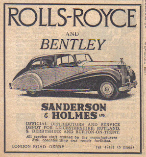 Sanderson & Holmes Ltd -Rolls Royce and Bentley dealer