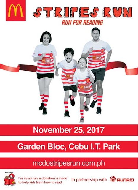 McDonald's Stripes Run For Cebu