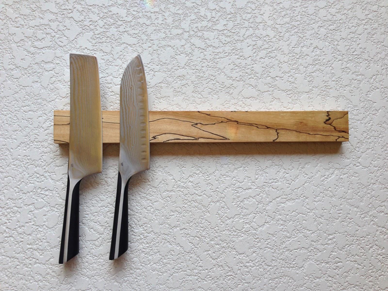 Warrior Woodwork: Magnetic Knife Strips