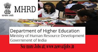 mhrd-india-jobs-news