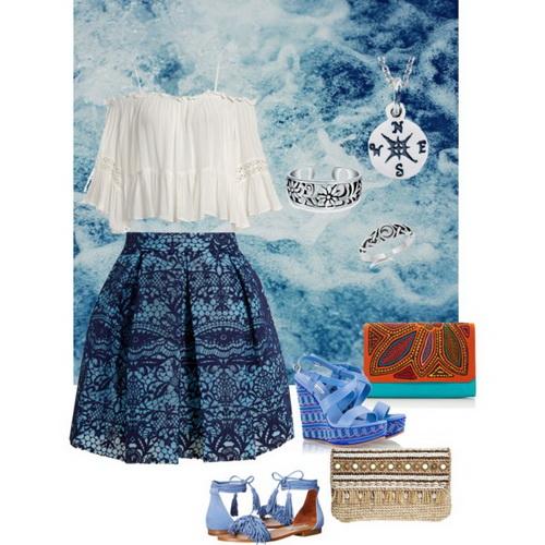 что одеть на фотосессию на море