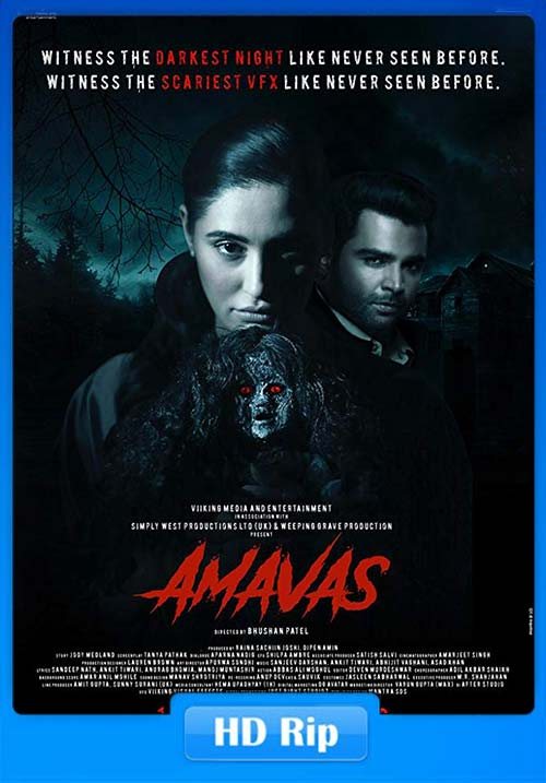 Amavas 2019 720p Hindi HDRip x264 | 480p 300MB | 100MB HEVC