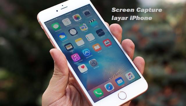 Cara mudah Mengambil Screen Capture / Foto layar di iPhone