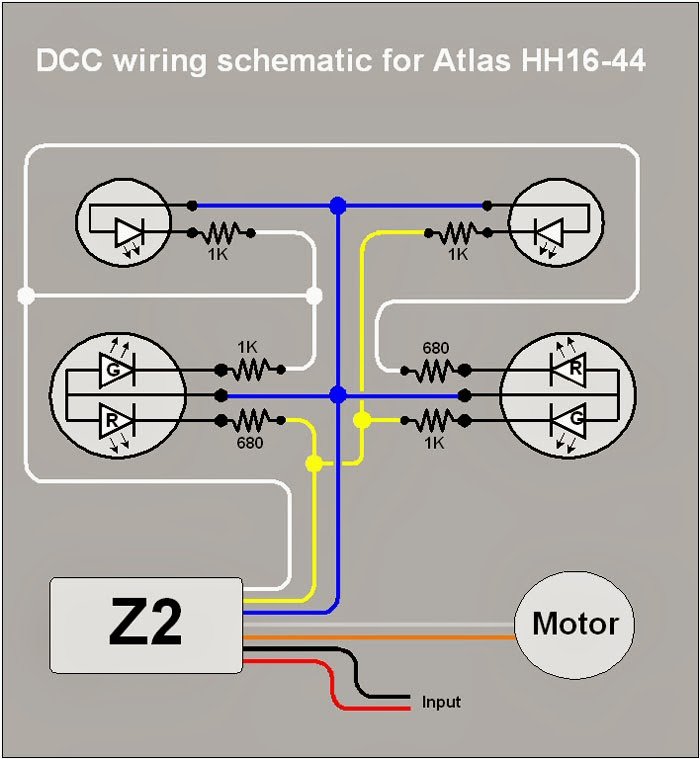 N Scale Wiring Diagrams Wiring Schematic Diagram