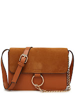 brown bag, chloe inspired bag, shoulder bag