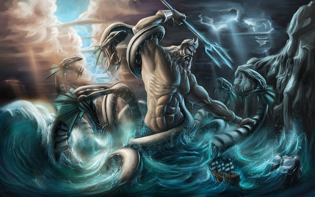 Cerita Legenda Tentang Dewa Laut Poseidon Dalam Mitologi Yunani