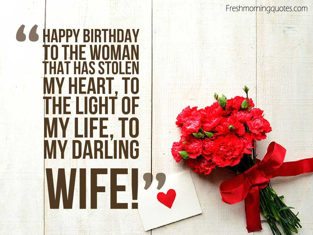 Romantic happy birthday wishes for wife with images and quotes romantic birthday wishes for wife quotes kristyandbryce Image collections